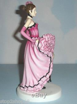 Royal Doulton Français Can Can Dancer Danses Du Monde # Hn5571 Figurine Nouveau