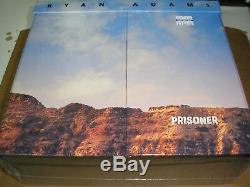 Ryan Adams Prisonnier Fin De La Boîte World Edition 12 X 7 Réglé Nouveau Scellé Pax Am