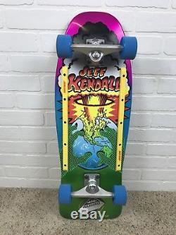 Santa Cruz Jeff Kendall Fin De La Planche À Roulettes Complète 10x29.7 Reissue Nouveau
