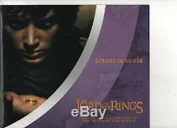 Seigneur Des Anneaux Silver Preof Collection 24 Pieces De Nouvelle Zelande Dans Son Emballage D'origine