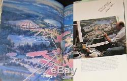 Signé Le Parc Epcot De Walt Disney La Création Du Nouveau Monde De Demain Richard R. Barbe