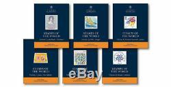 Stanley Gibbons Nouveaux Timbres Des Catalogues Du Monde 2020 6 Volumes Déposer