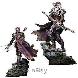 Statue Entièrement Peint À Neuf Dans La Boîte World Of Warcraft Statue De Sylvanas 18 Pouces