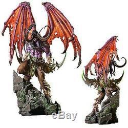 Statue Entièrement Peint À Neuf Dans La Boîte World Of Warcraft Statue Illidan 24 Pouces