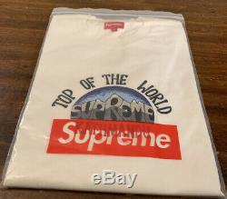 Supreme Top Of The World S / S Top Natural Taille Grande Ss20 Semaine 9 (en Main) Nouveau