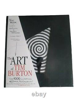 The Art Of Tim Burton Hardback Art Book Sketches. Flambant Neuf Et Scellé