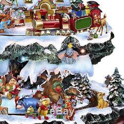 The Bradford Exchange 'le Monde Merveilleux De L'arbre De Noël Disney' Nouveau