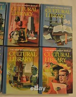 The New Wonder World Bibliothèque Culturelle / Institut Des Parents-ensemble Complet De 10 Vol