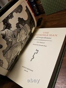 The War Of The Worlds / The Invisible Man Hg Wells Suntup Numéroté Signé Nouveau
