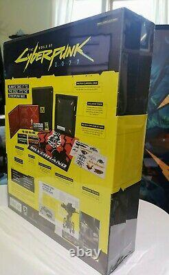 The World Of Cyberpunk 2077 Exclusive Collectors Edition Artbook Set New Rare