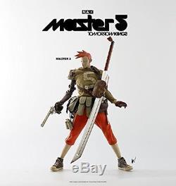 Threea Le Monde De Popbot Demain Kings Master 5 1/6 Figurine New F / S