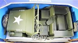 Véhicules Jeep De La Seconde Guerre Mondiale Véhicules Militaires Us Soldats Du Monde 1998 1/6 Echelle Nouveau