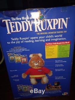 Vintage Le Nouveau Monde De Teddy Ruxpin Et Beanie Baby En Édition Limitée