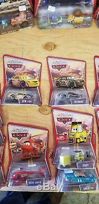 Voitures Disney Pixar Diecast Lot Carsthe World Of Cars 39 Véhicules Nouveau Sur La Carte