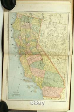 Watson Et New Complete Illustrated Atlas Du Monde 1885 Indexed