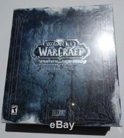 World Of Warcraft Colère Du Roi-liche Collector's Edition New Scellé! Avec Le Code