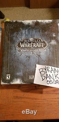 World Of Warcraft Colère Du Roi-liche Collector's Edition Nouvelle Scellée Wow Rare