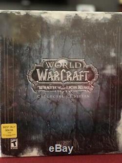 World Of Warcraft La Colère Du Roi-liche Ed. De Collectionneur. Nouveau Et Scellé