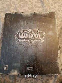 World Of Warcraft La Colère Du Roi-liche Edition Collector Neuf Scellé