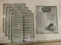 World Of Warcraft Le Jeu D'aventure (d'occasion) + 8 Packs De Caractères (nouveau)