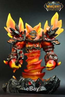 World Of Warcraft Ragnaros La Résine Firelord Gk Statue Figure 10in Nouveau En Stock