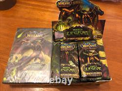 World Of Warcraft Starter Et 24 Booster Packs Nouvelle Marche Scellée De La Légion