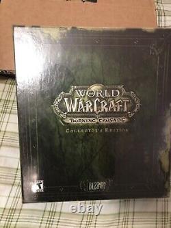 World Of Warcraft The Burning Crusade Edition Collector Nouveau, Scellé En Usine