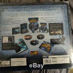 World Of Warcraft Wow Wrath Of Réédition & Unopened Du Roi Liche Collector