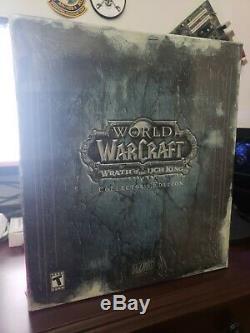 World Of Warcraft Wrath Édition De Collection Du Roi-liche. Condition Nouvelle Marque