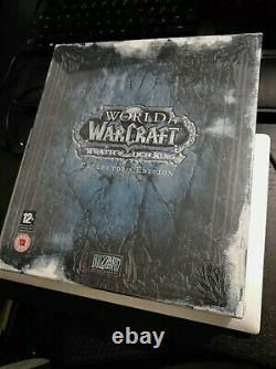 World Of Warcraft Wrath Of The Lich King Collectors Edition New - Sealed