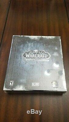 World Of Warcraft Wrath Of The Lich King Edition Collector Brand New Sealed