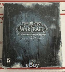 World Of Warcraft Wrath Of The Lich King Edition Collector (pc, 2008) Nouveau