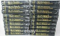 (lot De 72) The Holy Bible King James Version Kjv Pocket Size Nouveau Testament